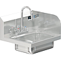 COMAL 30 HANDSINK WITH DECK FAUCET END SPLASH RIGHT