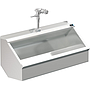 PALUXY 48 INCH TROUGH URINAL W/FLUSH VALVE