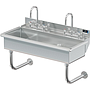 BLANCO 2 STATION X 40 W / DECK MT FAUCETS